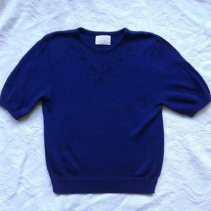 Pendleton Country Sophisticates Sweater Shirt Blue